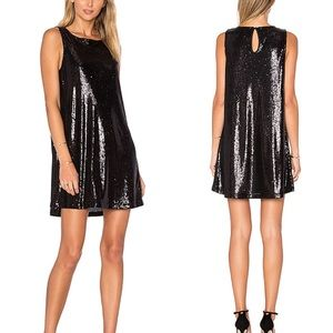 Cupcakes & Cashmere Sequined Dress Size Medium